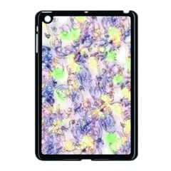 Softly Floral B Apple iPad Mini Case (Black)