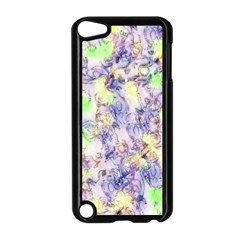 Softly Floral B Apple iPod Touch 5 Case (Black)