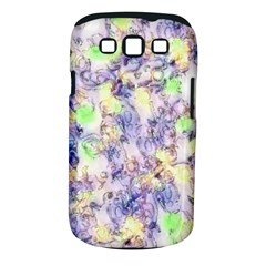 Softly Floral B Samsung Galaxy S III Classic Hardshell Case (PC+Silicone)