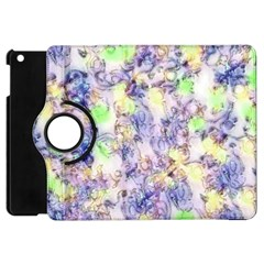 Softly Floral B Apple iPad Mini Flip 360 Case