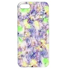 Softly Floral B Apple iPhone 5 Hardshell Case with Stand