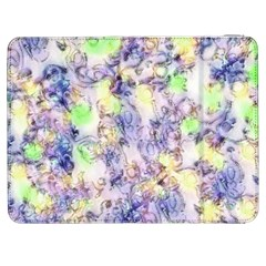 Softly Floral B Samsung Galaxy Tab 7  P1000 Flip Case