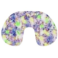 Softly Floral B Travel Neck Pillows
