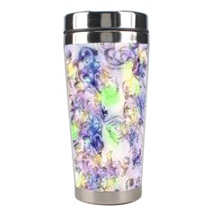 Softly Floral B Stainless Steel Travel Tumblers