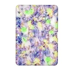 Softly Floral B Samsung Galaxy Tab 2 (10.1 ) P5100 Hardshell Case