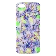 Softly Floral B iPhone 5S/ SE Premium Hardshell Case
