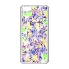 Softly Floral B Apple iPhone 5C Seamless Case (White)