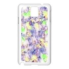 Softly Floral B Samsung Galaxy Note 3 N9005 Case (White)