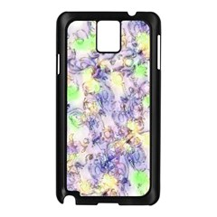 Softly Floral B Samsung Galaxy Note 3 N9005 Case (Black)