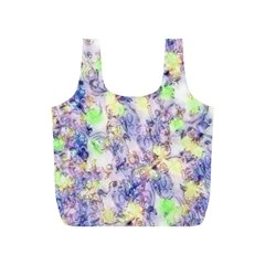 Softly Floral B Full Print Recycle Bags (S)