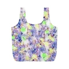 Softly Floral B Full Print Recycle Bags (M)