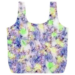 Softly Floral B Full Print Recycle Bags (L)