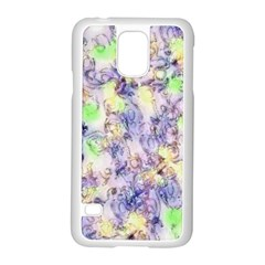 Softly Floral B Samsung Galaxy S5 Case (White)