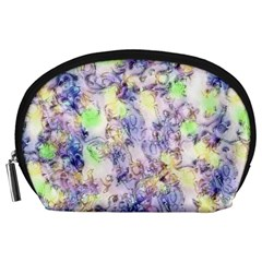 Softly Floral B Accessory Pouches (Large)