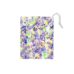 Softly Floral B Drawstring Pouches (Small)