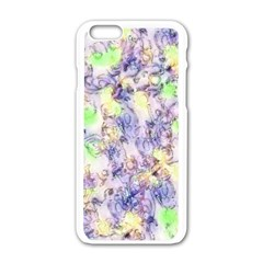 Softly Floral B Apple iPhone 6/6S White Enamel Case