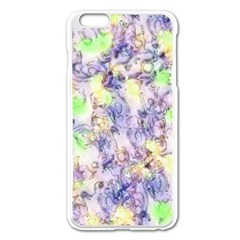 Softly Floral B Apple iPhone 6 Plus/6S Plus Enamel White Case