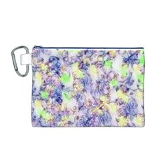 Softly Floral B Canvas Cosmetic Bag (M)