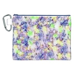 Softly Floral B Canvas Cosmetic Bag (XXL)