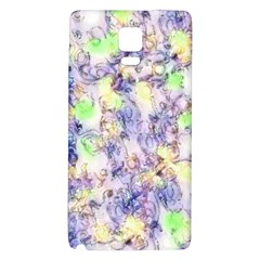 Softly Floral B Galaxy Note 4 Back Case