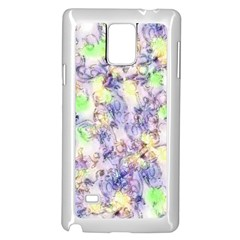 Softly Floral B Samsung Galaxy Note 4 Case (White)