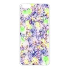 Softly Floral B Apple Seamless iPhone 6 Plus/6S Plus Case (Transparent)