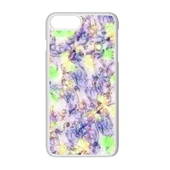 Softly Floral B Apple Iphone 7 Plus White Seamless Case