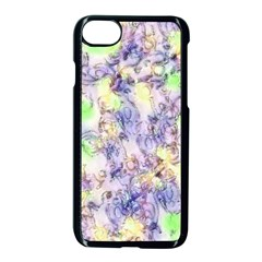 Softly Floral B Apple Iphone 7 Seamless Case (black)