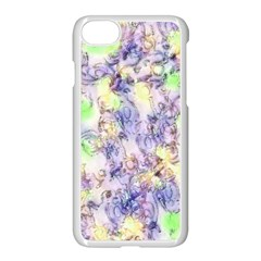 Softly Floral B Apple iPhone 7 Seamless Case (White)