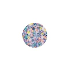 Softly Floral C 1  Mini Buttons