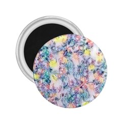 Softly Floral C 2.25  Magnets