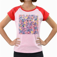 Softly Floral C Women s Cap Sleeve T-Shirt