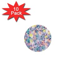 Softly Floral C 1  Mini Buttons (10 pack)