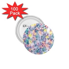 Softly Floral C 1.75  Buttons (100 pack)