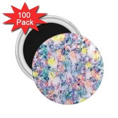 Softly Floral C 2.25  Magnets (100 pack)