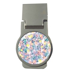 Softly Floral C Money Clips (Round)