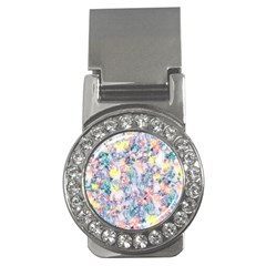 Softly Floral C Money Clips (CZ)
