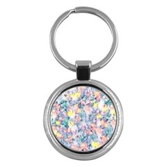 Softly Floral C Key Chains (Round)