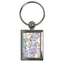 Softly Floral C Key Chains (Rectangle)