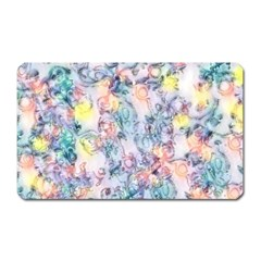 Softly Floral C Magnet (Rectangular)