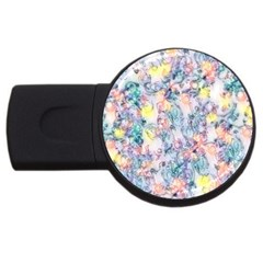 Softly Floral C USB Flash Drive Round (2 GB)