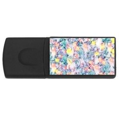 Softly Floral C USB Flash Drive Rectangular (2 GB)