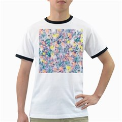 Softly Floral C Ringer T-Shirts