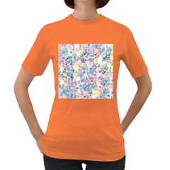 Softly Floral C Women s Dark T-Shirt