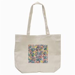 Softly Floral C Tote Bag (Cream)