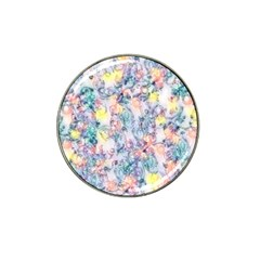 Softly Floral C Hat Clip Ball Marker (4 pack)