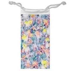 Softly Floral C Jewelry Bag