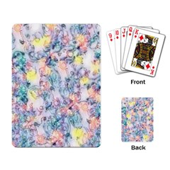 Softly Floral C Playing Card