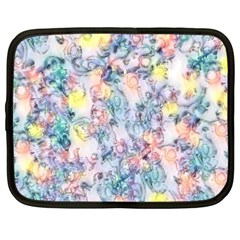 Softly Floral C Netbook Case (Large)