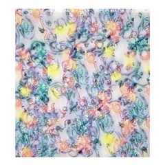 Softly Floral C Shower Curtain 66  x 72  (Large)